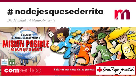 """Creamos la campaña """"Misión Posible: No dejes que se derrita"""" para Cruz Roja Juventud"""