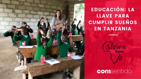 AfricaNdoto: educación para cumplir sueños