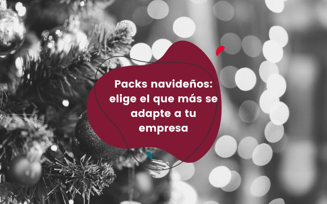 Packs navideños: elige el que más se adapte a tu empresa