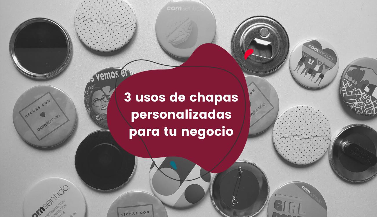 3 usos de chapas personalizadas para tu negocio